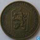 Czecho-Slovakia 1 koruna 1967
