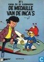 De medaille van de Inca's