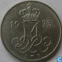 Denmark 10 øre 1973
