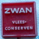 Zwan vlees-conserven (Rood)