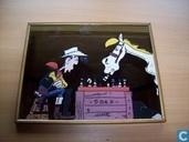 spiegel Lucky Luke en Joly Jumper
