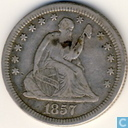 US ¼ 1857 dollars US