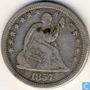 United States ¼ $ 1857