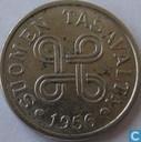 Finland 5 markkaa 1956