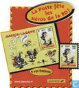 La Poste fête les héros de la BD!