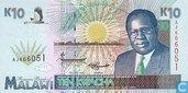 Malawi 10 Kwacha 1995