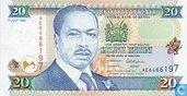 Kenia 20 Shilingi