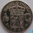 Dutch East Indies 1/10 gulden 1945 (P)