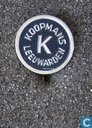 Koopmans Leeuwarden (rond met magere K) [blauw]