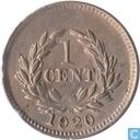 Sarawak 1 cent 1920