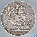 Vereinigtes Königreich 1 Crown 1891