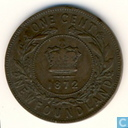 Newfoundland one cent 1872