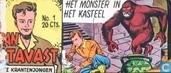 Strips - Jan Stavast - Het monster in het kasteel