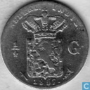 Dutch East Indies ¼ gulden 1857