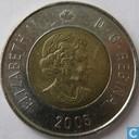 Canada  2 dollars 2005