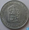 Tsjecho-Slowakije 10 haleru 1968