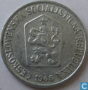 Czechoslovakia 10 haleru 1968