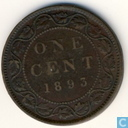 Canada 1 cent 1893