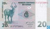 Congo 20 centimes