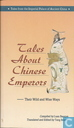 Tales about Chinese Emperors