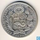 Peru 1 sol 1890