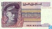 Burma 10 Kyats