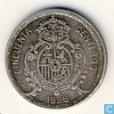 Spain 50 centimos 1926