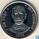 République dominicaine 1 peso 1976