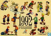 1992 50 ans de calendrier