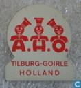 A.H.O. Tilburg-Goirle Holland [rood]