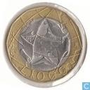 Italië 1000 lire 1998