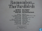 Disques vinyl et CD - Yardbirds, The - Remember...