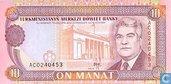 Turkmenistan Manat 10