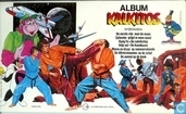 Album Kalkitos wrijfplaatjes Superman