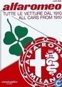 Tutte le vetture Alfa Romeo dal 1910