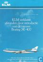 KLM verkleint afstanden door intro. 747-400 (01)