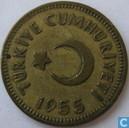 Turkey 25 kurus 1955