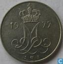 Denmark 10 øre 1977
