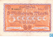Eschweiler / Stolberg 5 millions de Mark