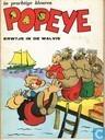 Comic Books - Popeye - Erwtje in de walvis