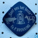 "Fa. P. Brokking ""Geef ons het beste"" [blue]"