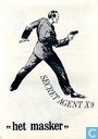 "Comic Books - Secret Agent X-9 - ""Het masker"""