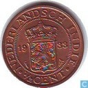 Indes néerlandaises ½ cent 1933 (grape)