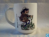 Coffee mug Gaston Lagaffe