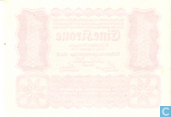 Banknotes - Oesterreichisch-Ungarische Bank - Austria 1 Krone