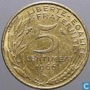 France 5 centimes 1966