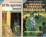 Books - Bulmer, Kenneth - Let the Spacemen beware + The Wizard of Starship Poseidon