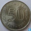 Malaisie 50 sen 1977