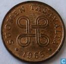 Finlande 1 penni 1965