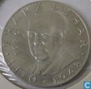 """Autriche 25 schilling 1970 """"100th Anniversary of Franz Lehar"""""""